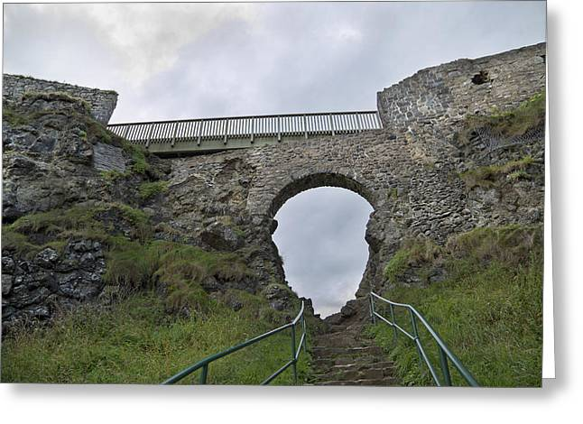 Modern Day Ruins Greeting Cards - View to Heaven Ireland Greeting Card by Betsy A  Cutler