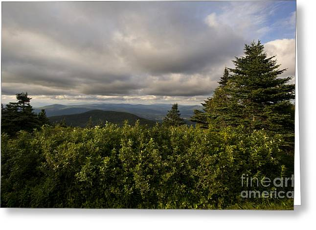 Western Ma Greeting Cards - View Towards The Green Mountains  Greeting Card by Jonathan Welch