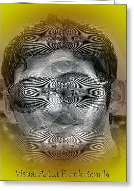Visual Artist Frank Bonilla Greeting Cards - View Greeting Card by Visual Artist  Frank Bonilla