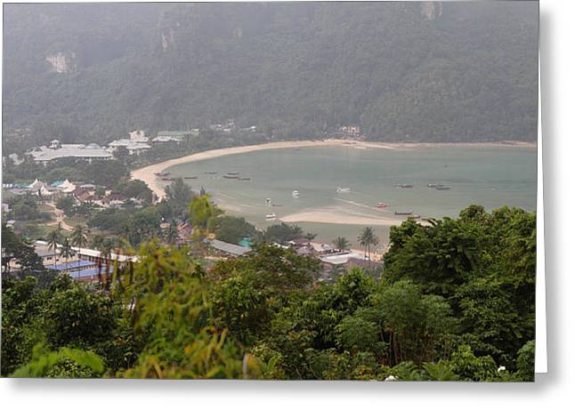 Viewpoint - Phi Phi Island - 01132 Greeting Card by DC Photographer
