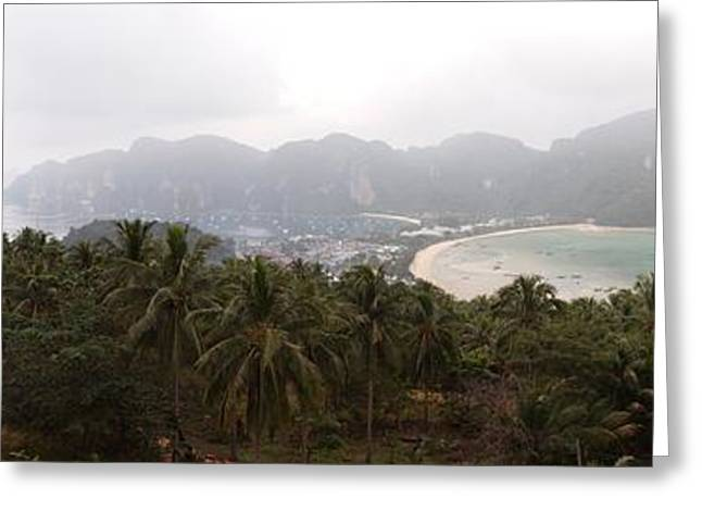 Viewpoint Greeting Cards - Viewpoint - Phi Phi Island - 01138 Greeting Card by DC Photographer