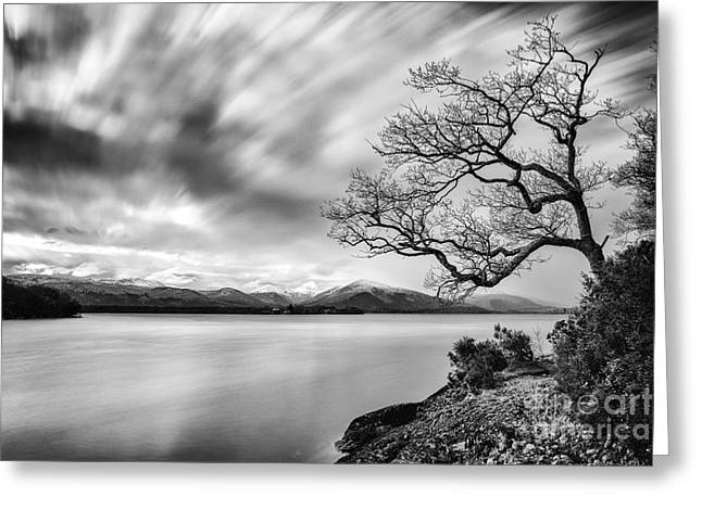 Visitscotland Greeting Cards - Views from Balmaha Pier Greeting Card by John Farnan