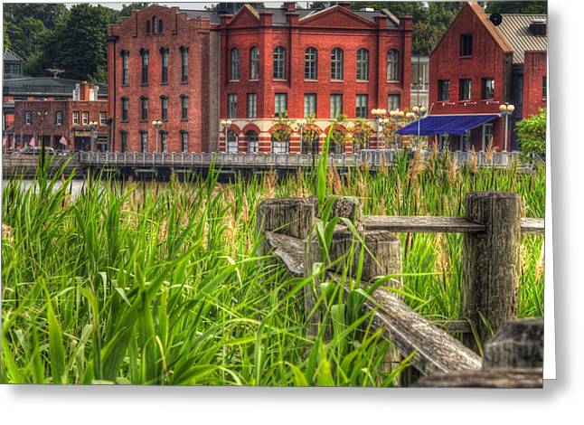 Westport Ct Greeting Cards - Views from Gorham Island Greeting Card by Joann Vitali