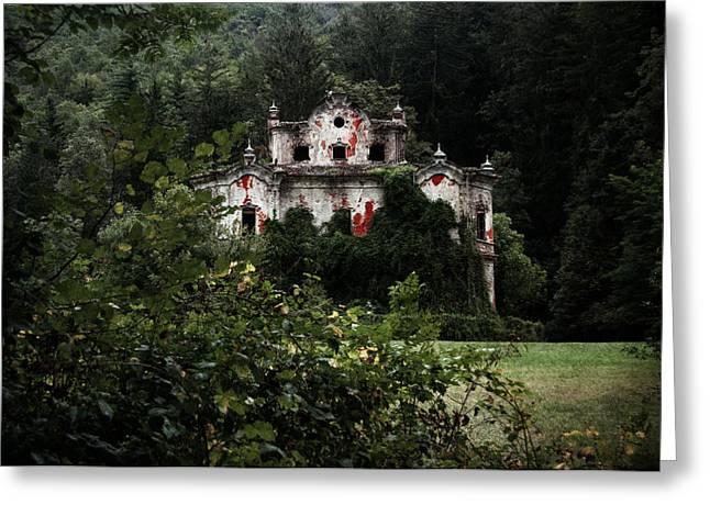 Villa De Vecchi Greeting Card by Laura Melis