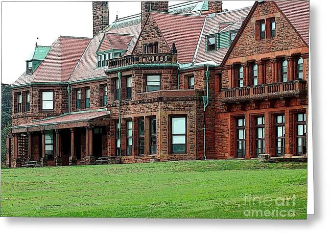 Struckle Greeting Cards - Villa Greeting Card by Kathleen Struckle