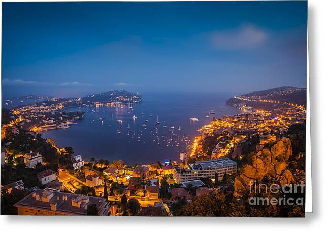 Villefranche Greeting Cards - Villefranche Greeting Card by Brian Jannsen