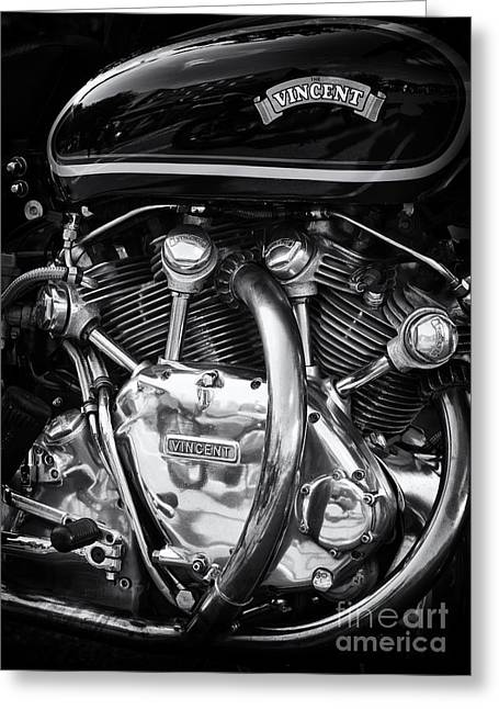 Recently Sold -  - Polish Culture Greeting Cards - Vincent Engine Greeting Card by Tim Gainey