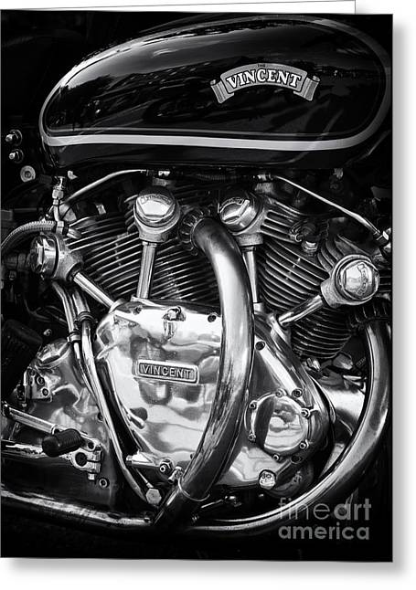 Polish Culture Greeting Cards - Vincent Engine Greeting Card by Tim Gainey