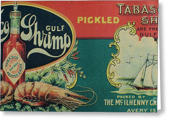 Lobster Post Greeting Cards - Vintage Advertisement Greeting Card by Steven Parker