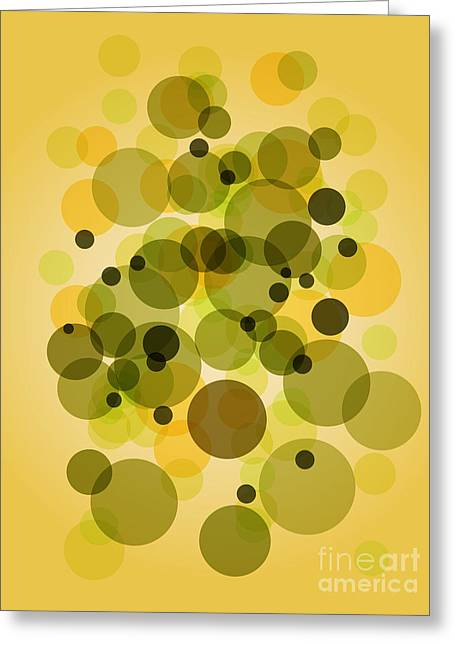 Indian Summer Greeting Cards - Vintage Circles Greeting Card by Indian Summer