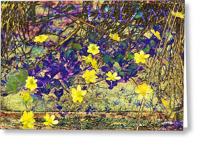 Wildfowers Greeting Cards - Vintage Dream Greeting Card by Kathy Bassett