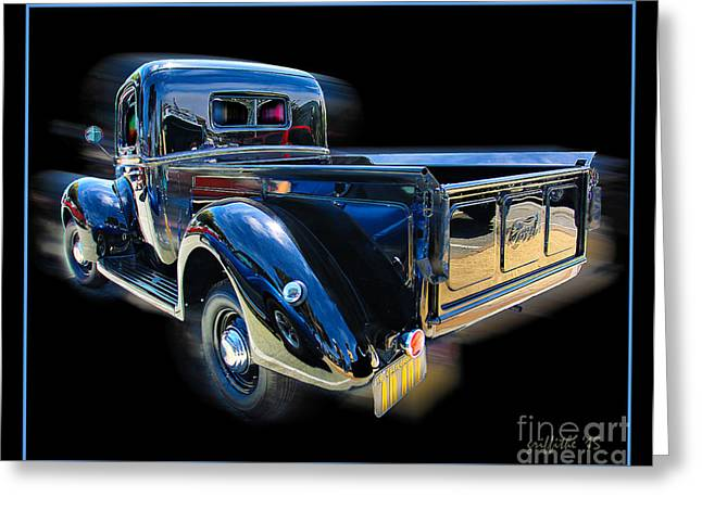 Classic Pickup Greeting Cards - Vintage Ford Pickup Greeting Card by Tom Griffithe