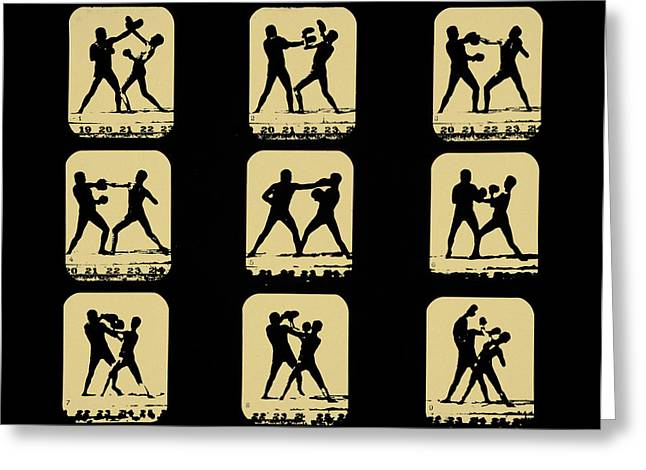 Boxer Digital Greeting Cards - Vintage - How to Box Greeting Card by Digital Reproductions