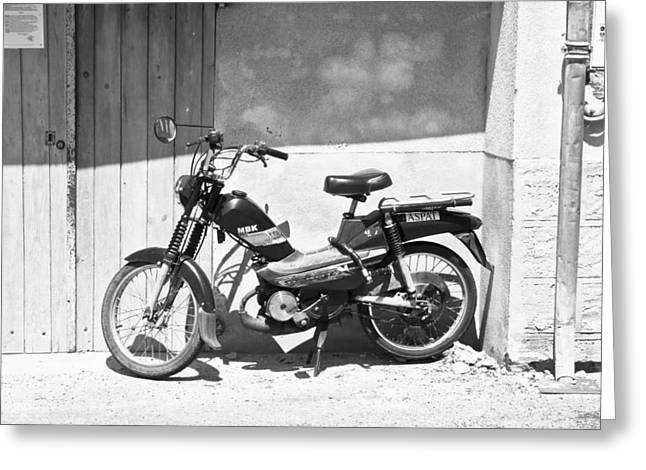 Motorized Greeting Cards - Vintage MBK Greeting Card by Nomad Art And  Design