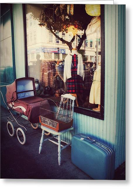 Vintage Memories Greeting Card by Melanie Lankford Photography