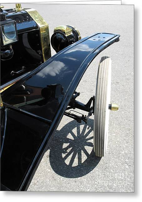 Best Sellers -  - Ford Model T Car Greeting Cards - Vintage Model T Greeting Card by Ann Horn