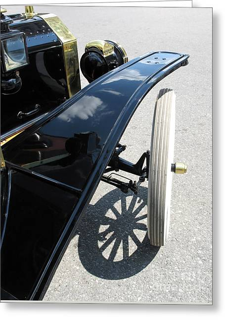 Ford Model T Car Greeting Cards - Vintage Model T Greeting Card by Ann Horn