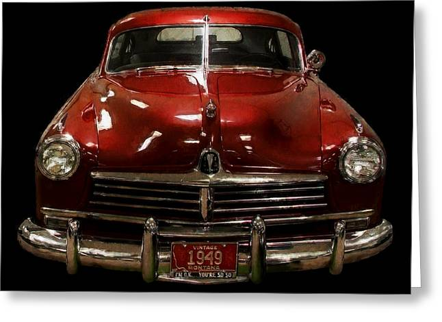 Car Grill Greeting Cards - Vintage Montana Cool Greeting Card by Daniel Hagerman