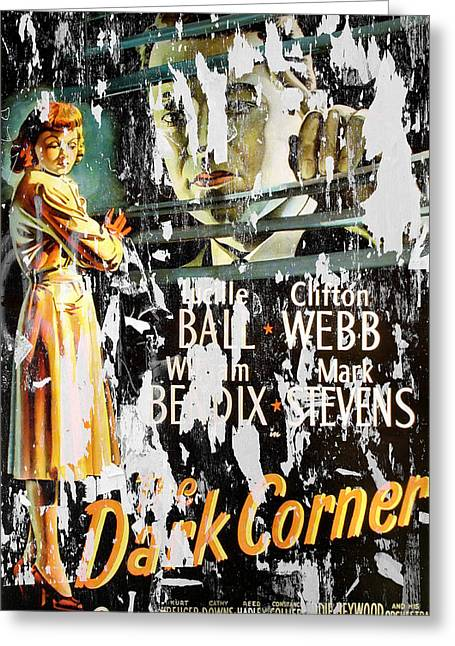 Film Noir Greeting Cards - Vintage Movie Poster 1 Greeting Card by Andrew Fare