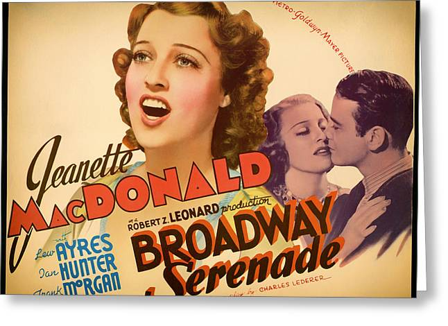 1939 Movies Greeting Cards - Vintage Movie Poster - 1939 Greeting Card by Mountain Dreams