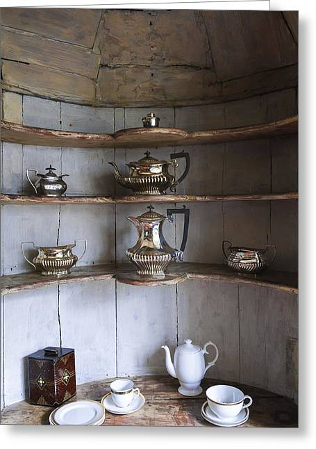 Old Shelfs Greeting Cards - Vintage Greeting Card by Svetlana Sewell