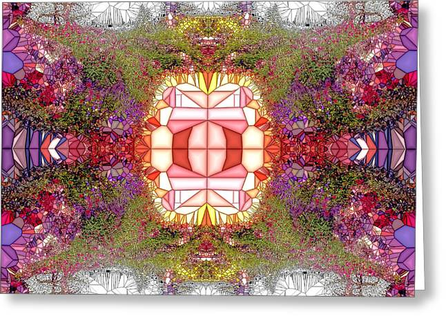 Neoteric Greeting Cards - Violet Dalles Greeting Card by Robert Pierce