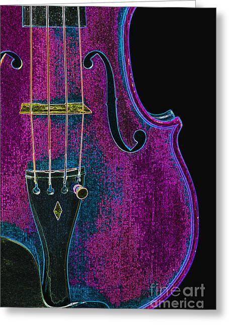 Still Life Photographs Greeting Cards - Violin Viola Body Photograph in Digital Color 3265.03 Greeting Card by M K  Miller