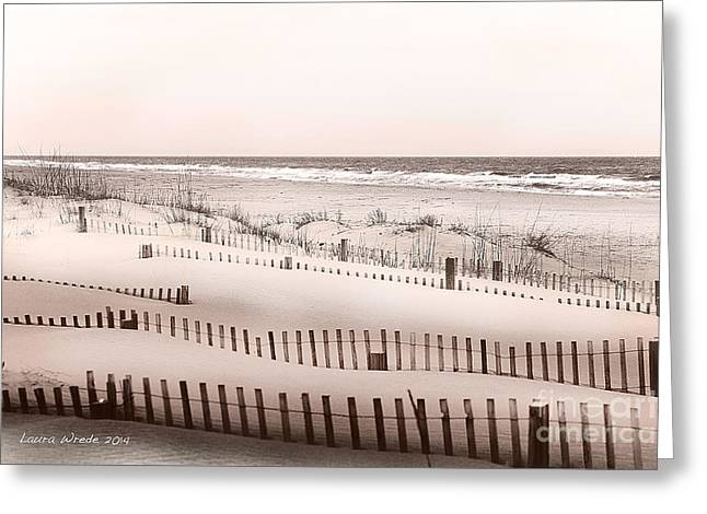 Laura Wrede Greeting Cards - Virgina Beach Vacation Memories Greeting Card by Artist and Photographer Laura Wrede