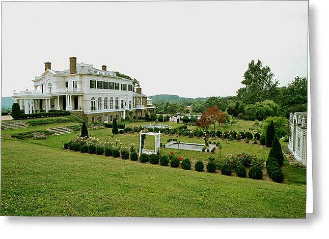 Virginia Landscape Greeting Cards - Virginia Country Estate Greeting Card by Mountain Dreams