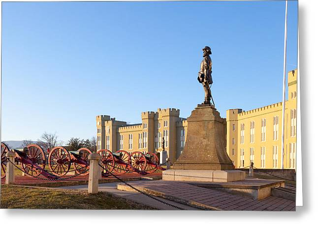 Vmi Greeting Cards - Virginia Military Institute Greeting Card by Melinda Fawver