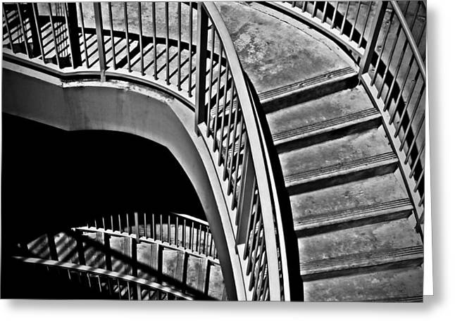 Abstract Expression Photographs Greeting Cards - Visions Of Escher Greeting Card by Steven Milner