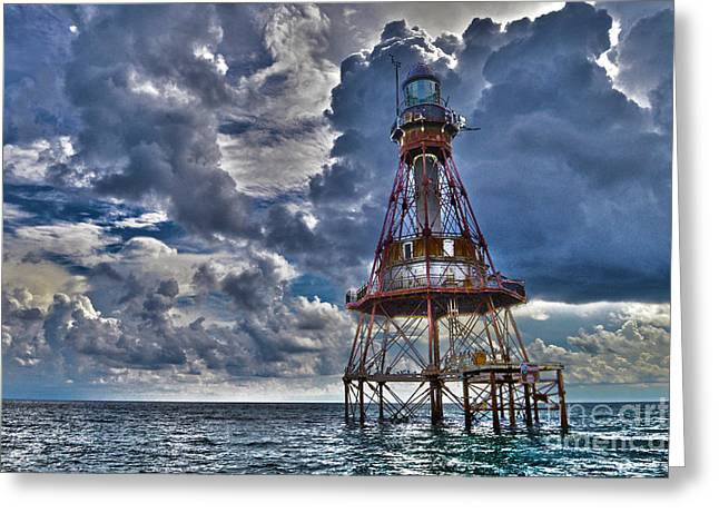 Cupula Greeting Cards - Visions of Fowey Light Greeting Card by Rick Bravo
