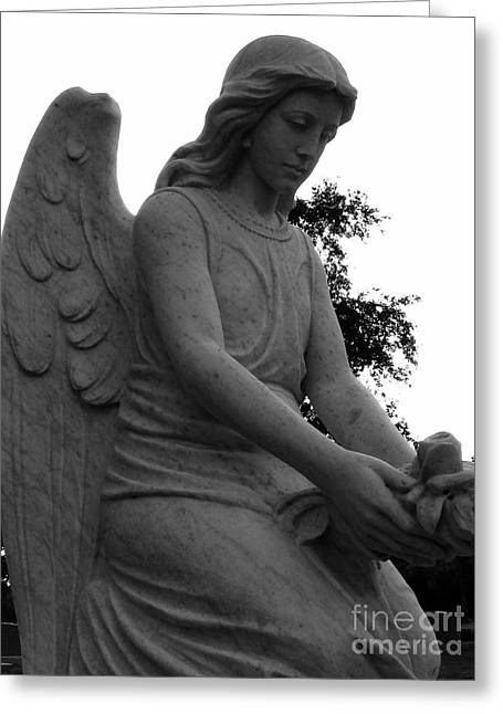 Usa Photographs Greeting Cards - Visiting Angel Greeting Card by Nathan Little