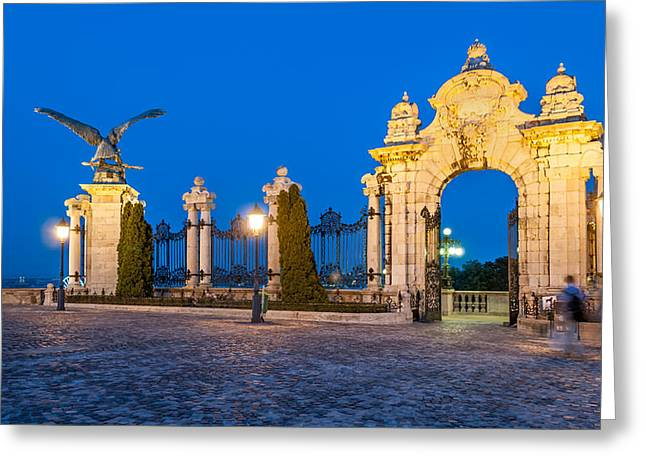 Opening Night Greeting Cards - Visiting Budapest Greeting Card by Mountain Dreams