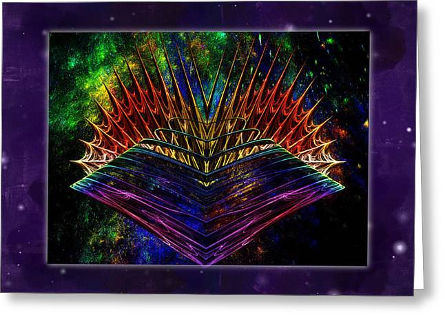 Outer Limits Greeting Cards - Visual Acuity at the Ends of Space Greeting Card by Mario Carini