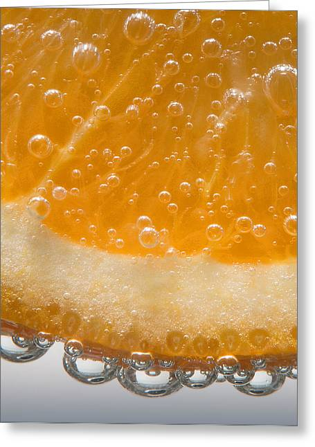 Vitamin C Greeting Card by Susan Candelario