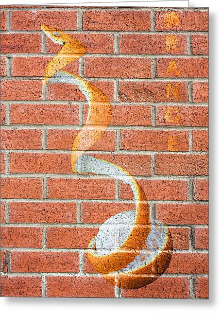 Sour Greeting Cards - Vitamin C Wall Greeting Card by Semmick Photo