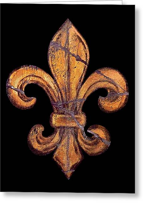 Fresco Greeting Cards - Vive la Nouvelle Orleans Greeting Card by Steve Bogdanoff