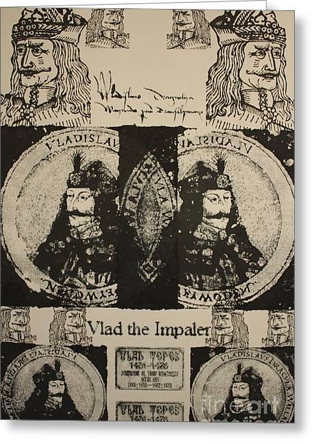 Michael Kulick Greeting Cards - Vlad The Impaler Greeting Card by  Michael Kulick