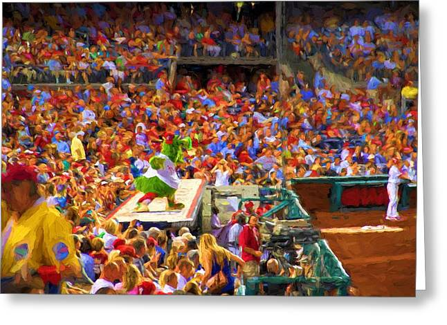 Phanatic Digital Art Greeting Cards - Vodoo Time Greeting Card by Alice Gipson
