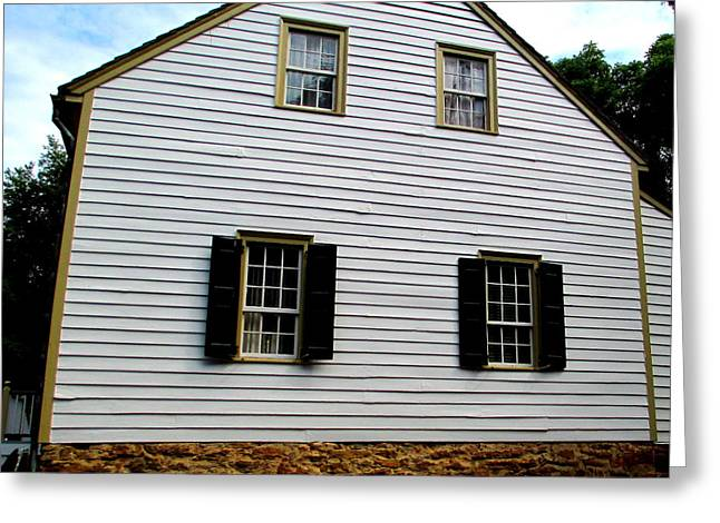 Gunsmith Greeting Cards - Vogler House Greeting Card by Randall Weidner