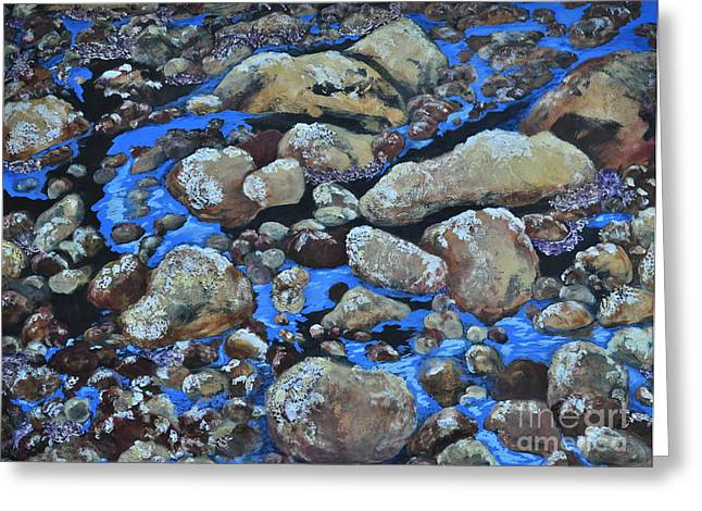 Stein Greeting Cards - Voice of the Stones Greeting Card by Carla Stein