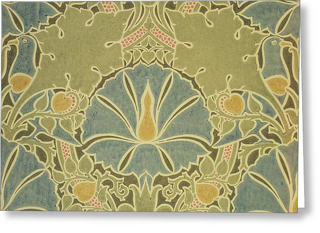 Voisey the Saladin Greeting Card by William Morris
