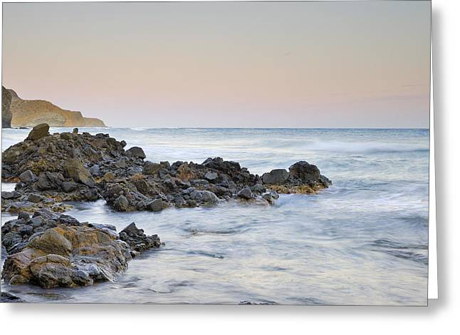 Volcanic Rocks Greeting Card by Guido Montanes Castillo