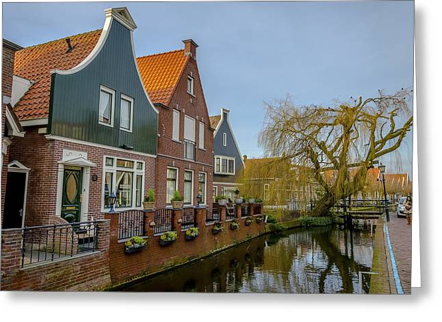 Localities Greeting Cards - Volendam Netherlands Greeting Card by Jose Goncalves