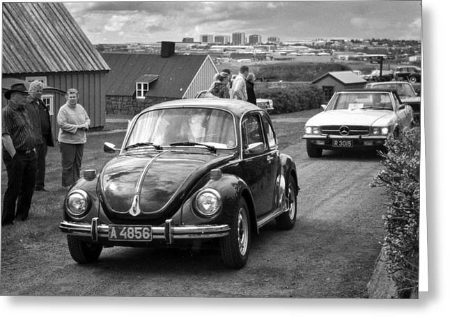Kjg Greeting Cards - Volkswagen  Greeting Card by Mirra Photography