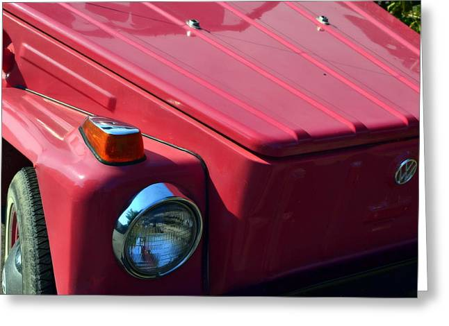 Volkswagen Thing Greeting Card by Michelle Calkins