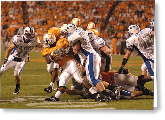Vol Greeting Cards - Volunteers on Offense. Greeting Card by Mountain Dreams