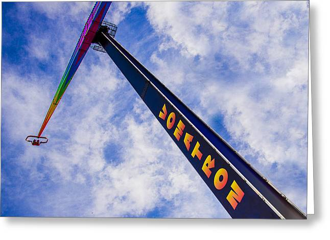 Old Town Digital Greeting Cards - Vomatron Greeting Card by Paul Wear