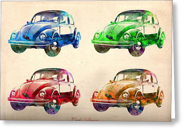 Vw 2 Greeting Card by Mark Ashkenazi